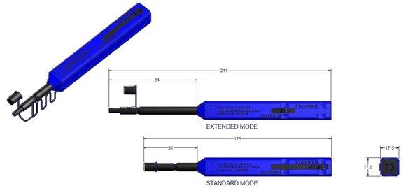 IBC™ Markenreiniger M20 – Reinigt SMPTE 304M Stecker und Stecker mit 2,00mm Ferrulen
