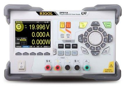 RIGOL DP811A Programmierbare DC Power-Supply, 3 Kanal, 160 W, 20V/10A (Low Range), 40V/5A (High Range),