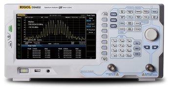 Rigol DSA832-TG Spectrum Analyzer 3,2 GHz; mit Tracking Generator 100 kHz - 3,2 GHz