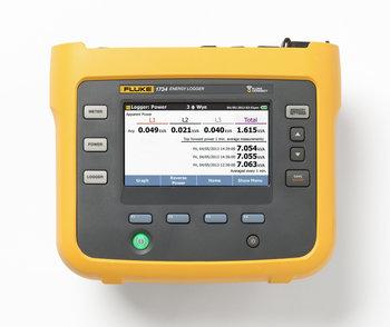 Fluke 1734B Basic, dreiphasiger Energie-Logger mit Fluke Connect ohne Stromzangen