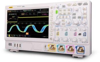 "Rigol DS7024 Oszilloskop mit GRATIS OPTIONENPAKET, 4-Kanal, 200 MHz, 10 GSa/s, 100 Mpts, 600.000 wfms/s, 10"" Touchscreen"