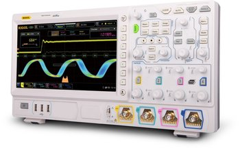 "Rigol DS7034 Oszilloskop mit GRATIS OPTIONENPAKET, 4-Kanal, 350 MHz, 10 GSa/s, 100 Mpts, 600.000 wfms/s, 10"" Touchscreen"