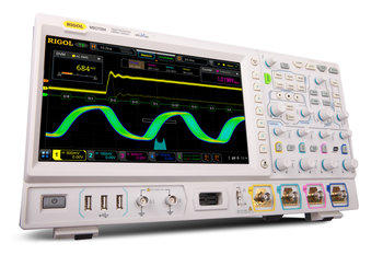 "Rigol MSO7034 Mixed Signal Oszilloskop mit GRATIS OPTIONENPAKET, 4-Kanal, 16 dig. Kanäle, 350 MHz, 10 GSa/s, 100 Mpts, 600.000 wfms/s, 10"" Touchscreen"