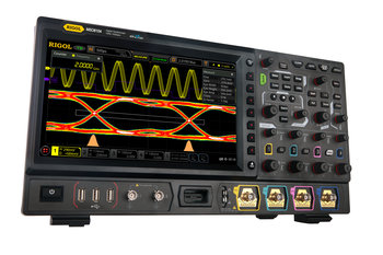 "Rigol MSO8104 Oszilloskop, 4-Kanal, 1 GHz, 10 GSa/s, 500 Mpts, 600.000 wfms/s, 10"" Touchscreen, optional 16 dig. Kanäle, inkl. GRATIS Bandbreitenupgrade 2 GHz und GRATIS Optionenbundle"