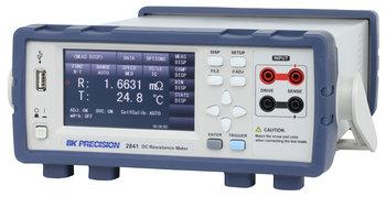 BK Precision BK2841 Hochauflösendes Milliohm-Meter mit Touchscreen 0,1 µOhm...100 MOhm, 0,01 % Genauigkeit, RS232, USB und LAN Schnittstelle