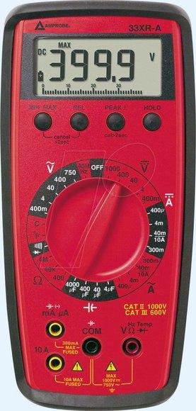 BEHA-Amprobe 33XR-A professionelles Multimeter mit Kapazitäts und Temperaturmessung