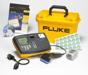 Fluke 6500-2 Gerätetester KIT, inkl. Barcodescanner, Software, Prüfadapter und Aufkleber
