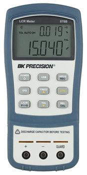 BK Precision BK878B 1 kHz Handheld LCR Meter, Dual Display