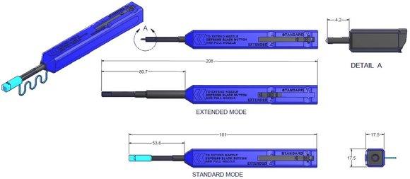 IBC?-Markenreiniger 9393 LC für 1,25-mm-Steckverbinder - LC, LC Secure Key und MU