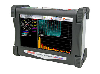 "Sefram DAS 30 Mobiler 2-Kanal Multifunktions- Recorder mit 10"" Touch Screen"