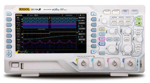 Rigol DS1104Z-S 100 MHz Digital Osziloskope, 25 MHz Funktionsgenerator - Inkl. GRATIS OPTIONENPAKET