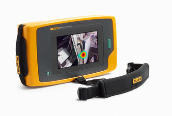 Fluke ii900 tragbare Industrie-Schallkamera zum Erkennen von Druckluft-, Dampf-, Gas- und Vakuumlecks