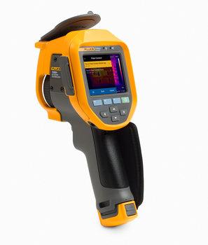 Fluke Ti300+ Wärmebildkamera, Empfindlichkeit 0,075 °C, 9 Hz, Auflösung 320x240, Temperaturbereich -20 bis 650 °C, Autofocus