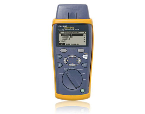 Fluke Networks CableIQ™ Qualification Tester
