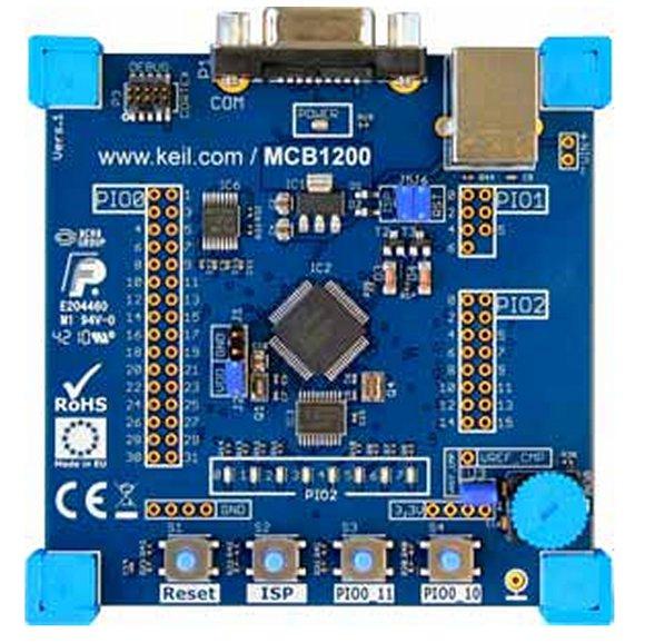 MCB1200 Evaluation Board für Cortex-M0 - Rekirsch Elektronik - Ihr ...