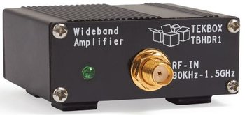 Tekbox TBHDR1 Breitband HF-Verstärker, 30 kHz...1,5 GHz, 24 dB, Betrieb an USB-Anschluss, für EMV-Messungen