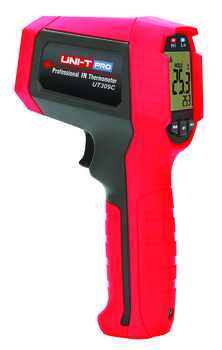 UNI-T UT309C professionelles Infrarot-Thermometer, Messbereich -35...650°C, IP65, 3m stoßfest