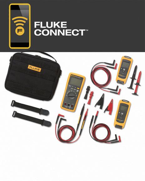 FLK-V3003 FC Wireless Gleich- und Wechselspannungs-Kit (Multimeter, AC- und DC-Module)