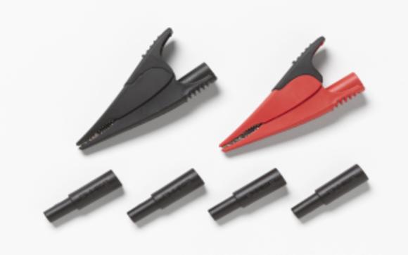 Fluke Krokodilklemmen und Adapter für die abgesicherten Messspitzen FTP-1 und FTPL-1