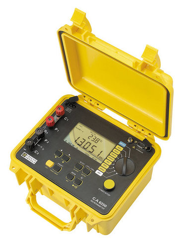 Chauvin Arnoux C.A 6250 Micro-Ohmmeter