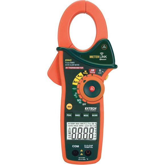 EXTECH EX845 AC/ DC-Stromzange + IR-Thermometer