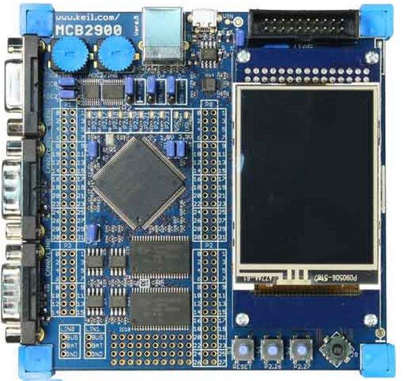 MCB2929 Evaluation Board für ARM968E-S - Rekirsch Elektronik - Ihr ...