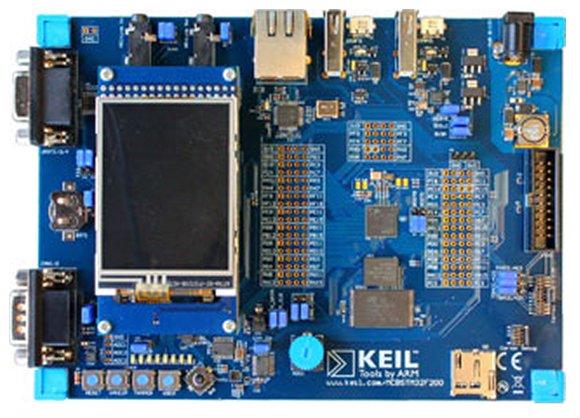 MCBSTM32F400 Evaluation Board für Cortex-M4 - Rekirsch Elektronik ...