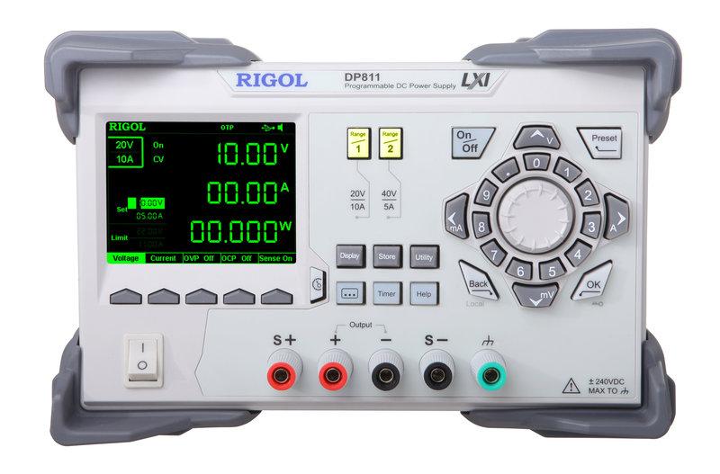 Rigol DP821 Programmierbare DC-Power Supply, 2 Kanal, 140W, 60V/1A    8V/10A