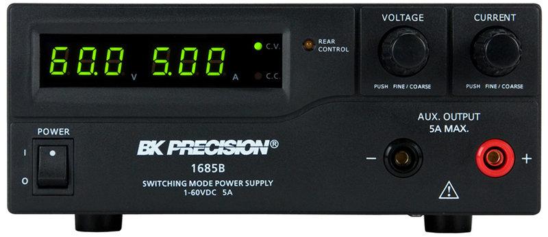 BK Precision 1685B DC Labornetzteil mit PC-Anbindung, 1 Kanal, 1...60 V, 0...5 A