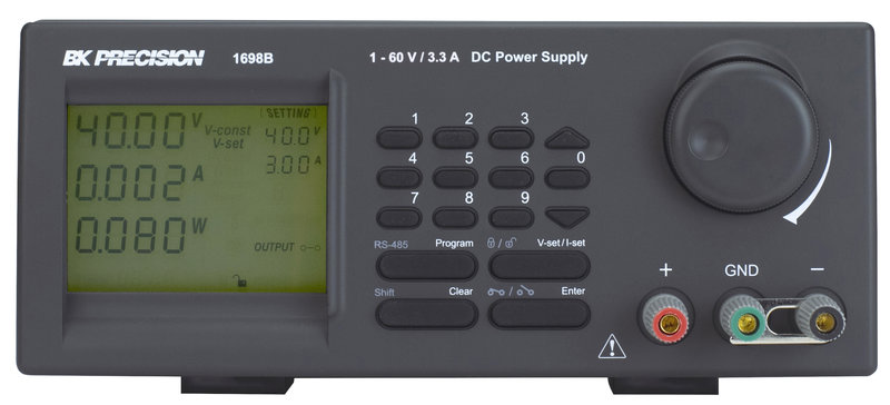 BK Precision BK1698B programmierbarer DC Labor-Netzteil 60 V, 3.3 A, 200 W, mit PC Anbindung über USB