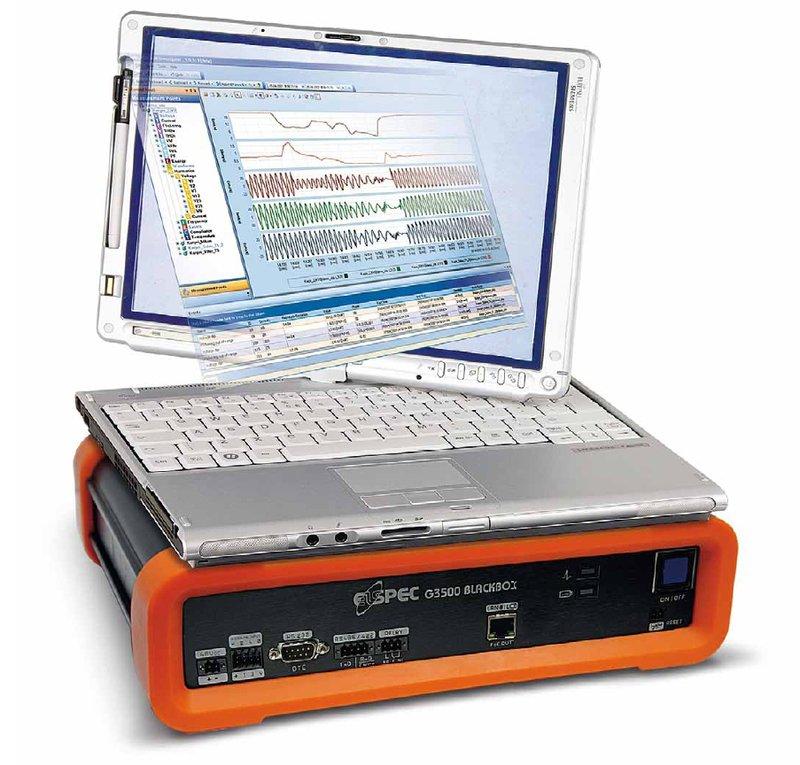Elspec G3500 Black Box Leistungsanalysator mit Störschreiberfunktionalität und Fernbed. inkl.