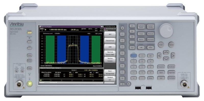 Anritsu MS2830A; Signal Analyzer, bis 3,6/ 6/ 13,5/ 26,5/ 43 GHz