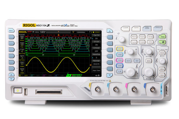 Rigol DS1074Z-S Plus; 70 MHz, 1Gsa/s, 25 MHz Funktionsgenerator, Digitales Oszilloskop - Inkl. GRATIS OPTIONENPAKET, -5% Aktion gültig bis 15.02.2021