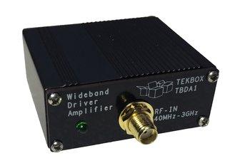Tekbox TBDA1/28, universeller 28 dB Breitband HF Verstärker, 40 MHz bis 3 GHz