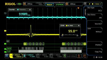Rigol MSO8000-EMBD Embedded Serial Bus Trigger und Analyse (I2C, SPI) für Rigol MSO8000 Serie, -5% Aktion gültig bis 15.02.2021