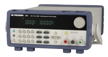 BK Precision BK9205 programmierbares DC Netzteil, 1 Kanal, 600 W, 0... 60 V und 25 A