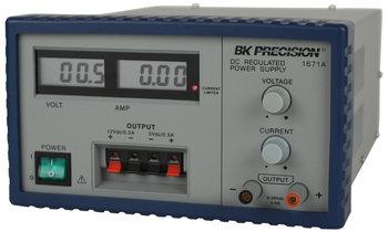 BK Precision BK1671A 3-Kanal Labor-Netzteil 0...30 V / 0...5 A; 12 V / 500 mA fix; 5 V / 500 mA fix