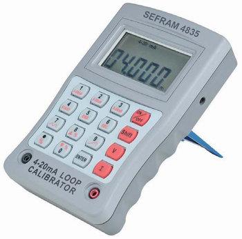 Sefram 4835 Stromschleifen-Kalibrator 4-20 mA / 4-24 V