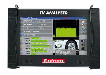Sefram 7882-4K Ultra High Definition TV Meter für DVB-T,DVB-T2 Lite,DVB-C and C2, DVB-S and DVB-S2