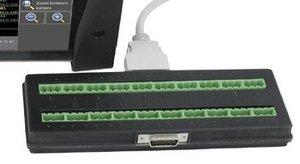 Sefram 902401000 20-Kanal Board zur Erweiterung für DAS240 und DAS240BAT Recorder