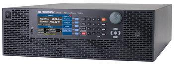 BK Precision BK9833B Programmierbares Netzteil, AC+DC, 1 Kanal, 3.000 W, bis zu 300 V / 30 A, mit Frequenzgenerator und Signaleingang, LAN und USB Schnittstelle