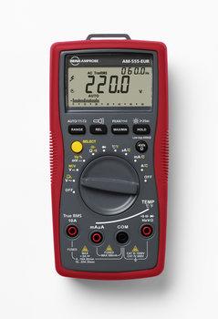 Beha-Amprobe AM-555 Echteffektiv-Multimeter mit Temperaturmessung