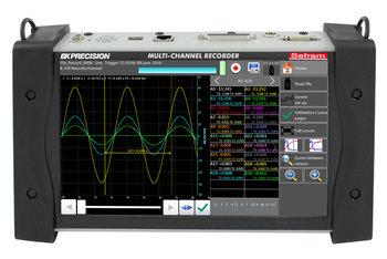 "Sefram DAS240 20-Kanal Multifunktions-Recorder (optional bis 200 Kanäle) mit 10"" Touchscreen"