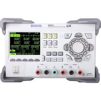 Rigol DP831 Programmierbare DC-Power Supply, 3 Kanal, 160W, 8V/5A || 30V/2A, - 30V/2A