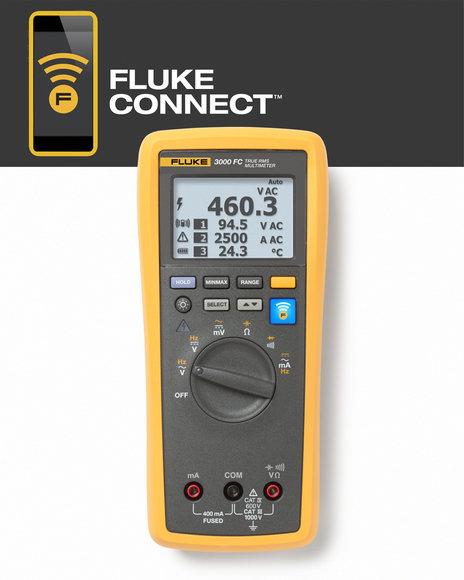 FLK-3000FC WIRELESS DIGITALMULTIMETER