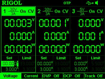 Rigol Option DP8-HI-RES für Netzteil DP832, hohe Auflösung 1 mV und 1 mA