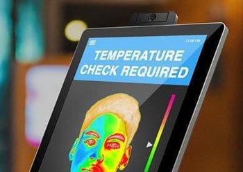 Elo Infrarot-Kameramodul zur Zugangskontrolle mit Temperaturerfassung für Elo I-Serie, 02-Serie Monitore und 02-Serie IDS
