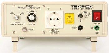 Tekbox TBLC08 50 µH Zweileiter-Netznachbildung (LISN) für 230 V Wechselspannungs-Geräte bis 8 A