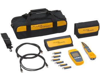 Fluke Networks MicroScanner PoE KIT mit Intellitone Pro 200 Probe und Remote ID Kit