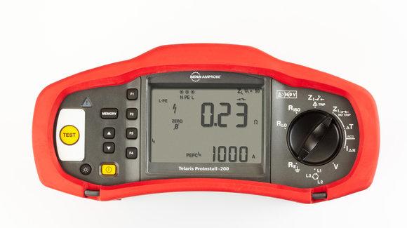 Beha-Amprobe Proinstall-200-D Kombiniertes Installationsmessgerät FI/RCD (Typ B)